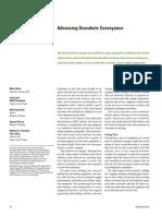 Advancing Downhole Conveyance