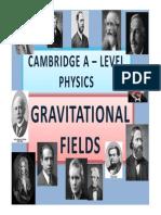 Chapter 08 Gravitational Fields