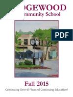 RCSFall 2015 Brochure