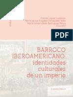 Barroco iberoamericano, Identidades Culturales de Un Imperio_vol1