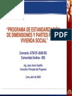 AVALO. Estandarizacion de dimensiones y partes vivienda social.pdf