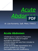 Acute Abdomen[1]