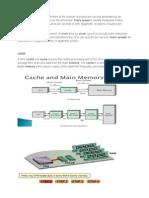 Clock Speed & Cache Memory, Hard Disk,Ram