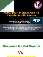 Gangguan Mental Karena Kondisi Medis Umum