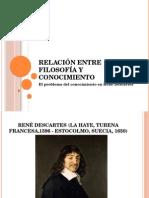 4. Relación Entre Filosofía y Conocimiento