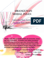 Pembangunan Modal Insan