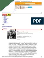 Vivemos Tempos Líquidos Entrevista Com Zygmunt Bauman