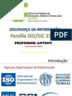 7 - Introdução a ISO e Trabalho