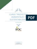 Curso Proyectos Ambientales y Sustentabilidad 1