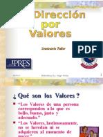 Dirección Por Valores