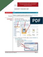 Practica N° 1 _PUBLISHER  2007