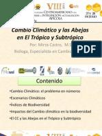 Cambio Climatico y Las Abejas en El Tropico y Subtropico