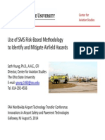 Use of SMS Risk-Based Methodology to Identify and Mitigate Airfield Hazards - Young