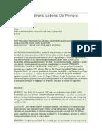 Proceso Ordinario Laboral De Primera Instancia.doc
