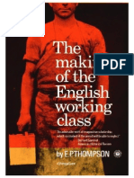 E.P. Thompson the Making of the English Working Class - Excerpt