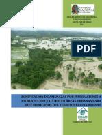 10 Mapas Urbanos de Amenaza de Inundacion