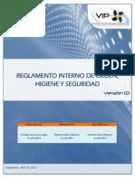 Reglamento Interno Orden Higiene y Seguridad Prevencion