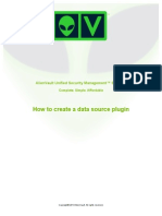AlienVault Creating a Data Source Plugin