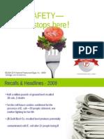Food Safety Inservice Presentation