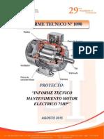 Informe Tecnico Prodac Motor 75HP