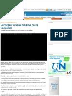Conseguir Ayudas Médicas en Venezuela