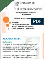 Abdomen Agudo Caso Clinico