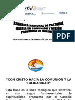 REUNION PREPARACIÓN ASAMBLEA DIOCESANA Y PROVINCIAL DE PASTORAL.ppt