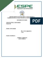 Informe Encoder Sensor de Ranura