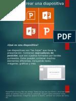 Como Crear Una Diapositiva