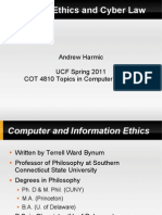 AndreHarmic-Computer Ethics and Law Presentation