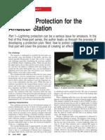 LigLightning Protection for the Amateur Stationhtning Prot RF