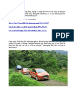 Quy 3 Nam 2015 Ford Ban Duoc 3984 Xe Tai Viet Nam