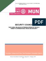Study Guide Security-Council Rotaract Global Mun 2015
