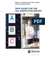 County of Los Angeles Department Of Public Health - REFERENCE GUIDE FOR THE FOOD OFFICIAL INSPECTION REPORT