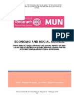 Study Guide ECOSOC-Topic-Area-A Rotaract Global Mun 2015