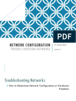 Module 2_Lecture 2 - Network Configuration - Troubleshooting Networks