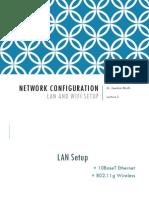Module 2_Lecture 3 - Network Configuration - LAN Setup
