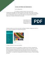Personalizacion Del Entorno de Windows 8