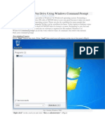 Creating Bootable Pen Drive Using Windows Command Prompt