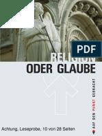 Werner Heukelbach Religion Oder Glaube Bibel Gott Jesus