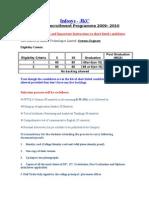 Infosys Eligibility Criteria Instructions