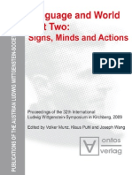 Munz, Puhl, Wang Language and World. 2 Signs, Minds and Actions