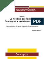 La Política Económica Introducción