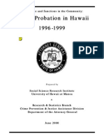 Felony Probation in HI 1996 1999