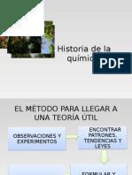 Historia de La Química.
