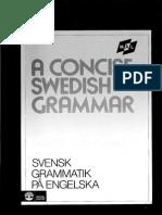 Svensk Grammatik Pa Engelska