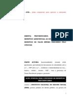 59.1- Pet. Inicial - Concessão de Benefício Assistencial Ao Idoso - Possibilidade de Exclusão Da Renda de Valor Mínimo Recebido Por Cônjuge
