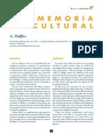 Halffter Comenta la Memoria biocultural