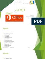 Curso Excel 2013 Nivel 1 Propuesta 0