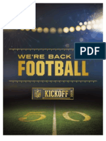 2015 NFL Kickoff Information Guide